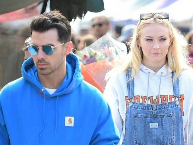 'Game of Thrones' Star Sophie Turner Cradles Baby Bump on Walk With Joe Jonas