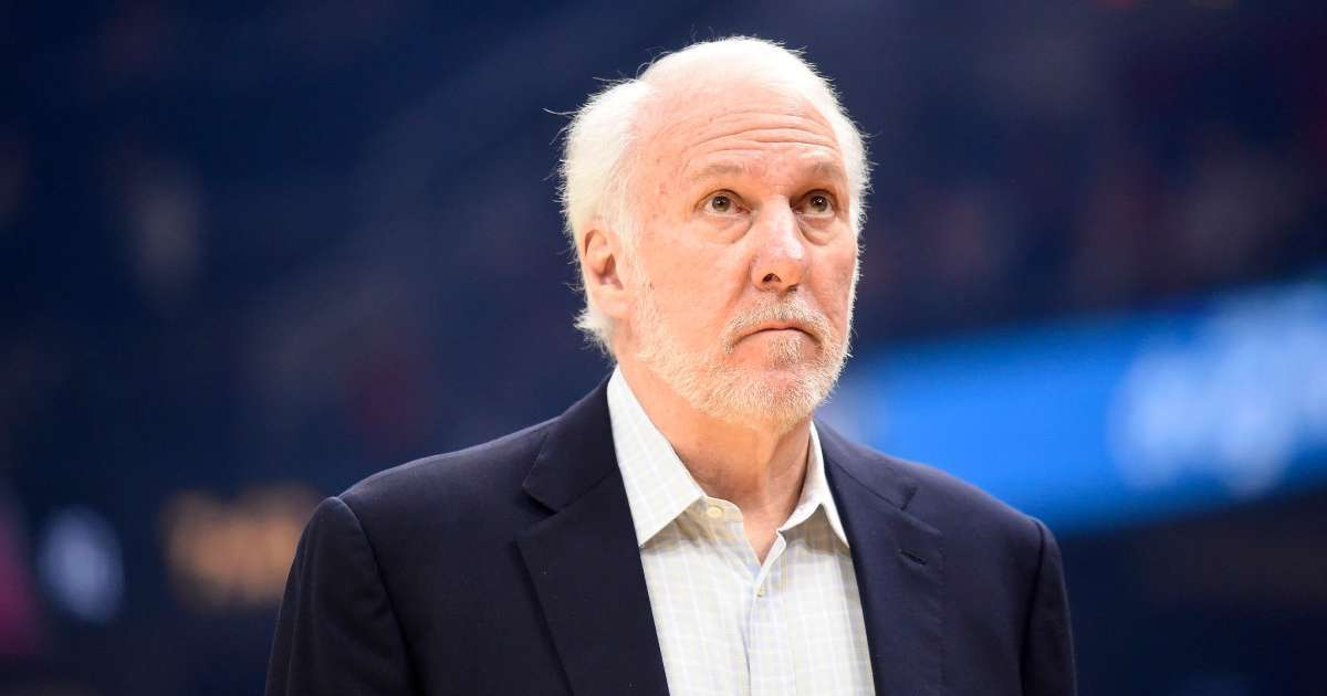 Spurs coach Greg Popovich rips Donald Trump response George Floyd protest calls deranged idiot