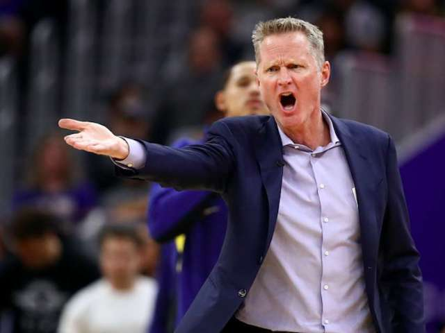 Steve Kerr Delivers Sarcastic Takedown of Donald Trump's Bible Photo