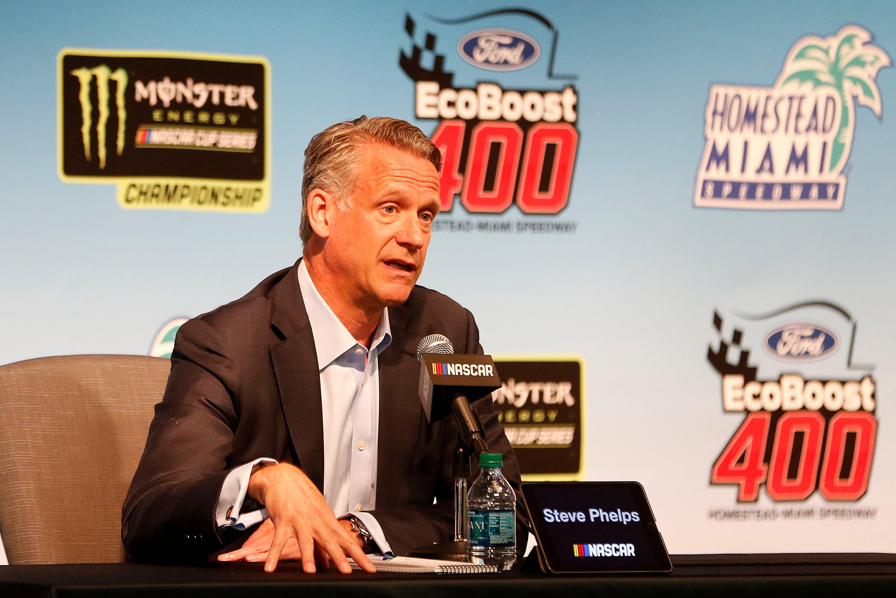 Steve Phelps NASCAR