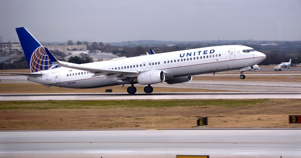 united airlines plane getty images