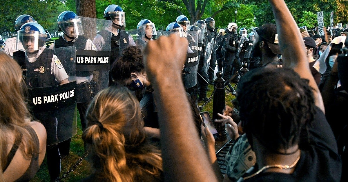 washington-dc-protest-police-getty