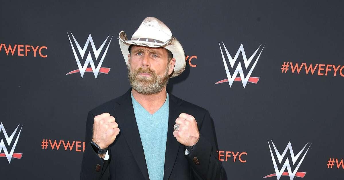 WWE icon Shawn Michaels full on quarantine beard