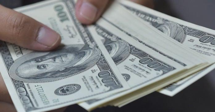 $100 bills getty images
