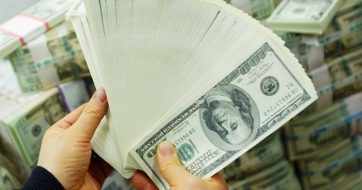 100 dollar bills getty images
