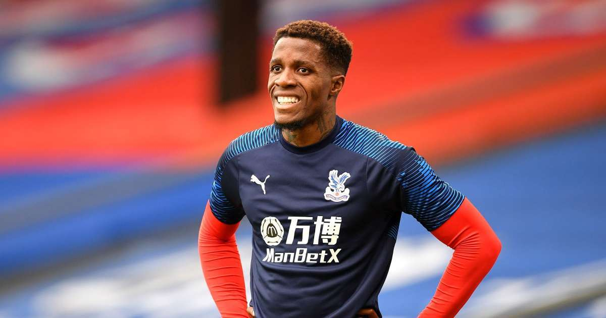 12-year-old boy arrested racists messages soccer player Wilfried Zaha