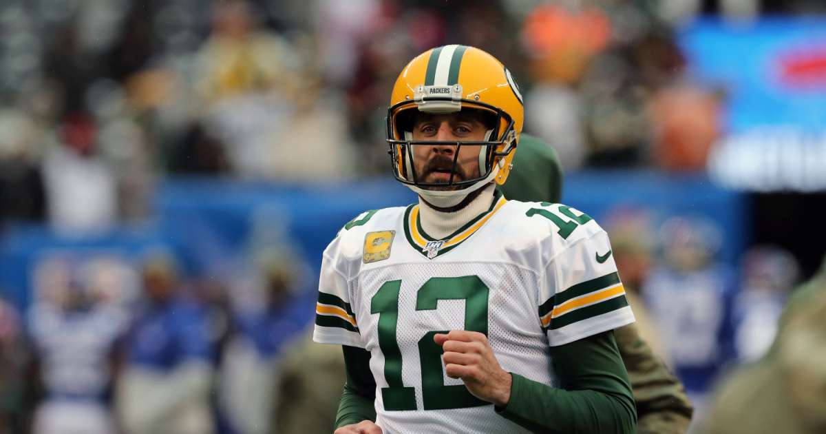 Aaron Rodgers drinking Tequila Packers drafted Jordan Love