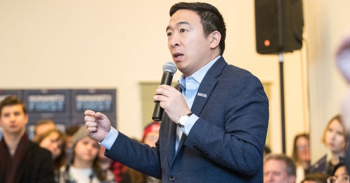 andrew yang getty images