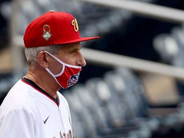 Dr. Anthony Fauci, 50 Cent's First Pitches Rank Among Worst Ever