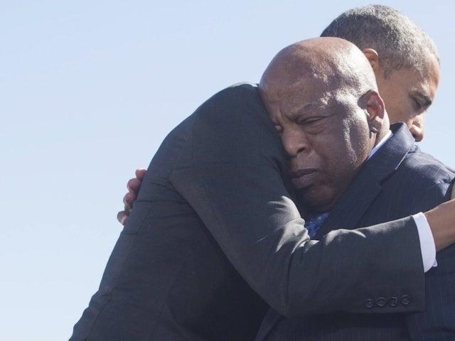 Barack Obama Speaks out on John Lewis' Death: 'I Stood on His Shoulders'