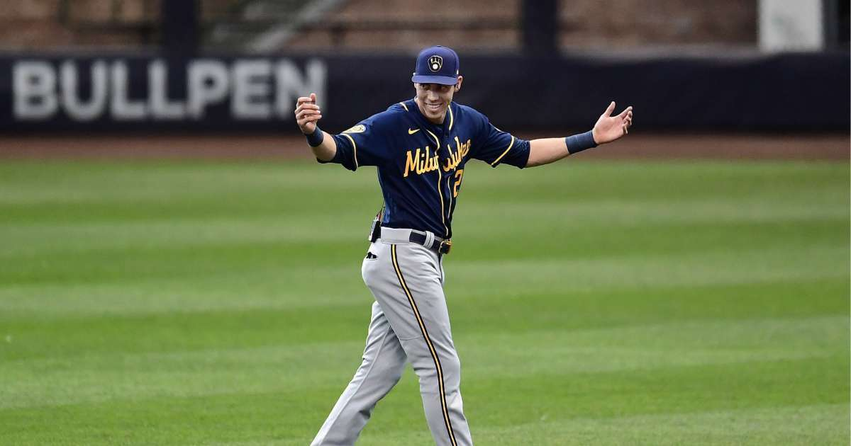 Brewers Christian Yelich giving away free beer celebrate baseball return