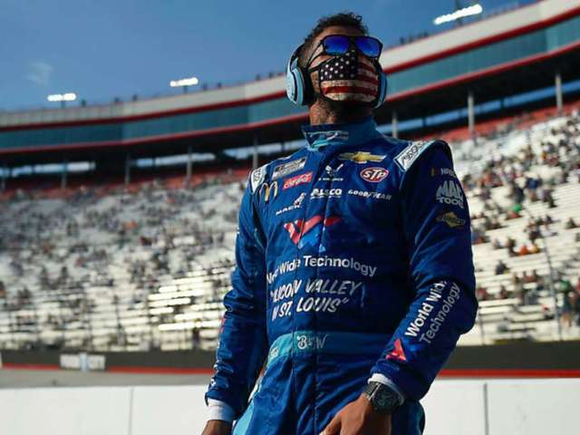 Bubba Wallace Reveals a Part of Him Wanted to 'Stoop Down' to Donald Trump's Level Following Rope Backlash
