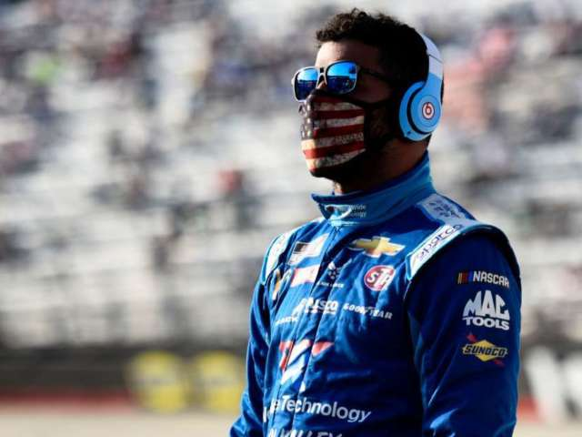 Bubba Wallace Goes After NASCAR Driver Who Wrecked Him at All-Star Race Qualifier