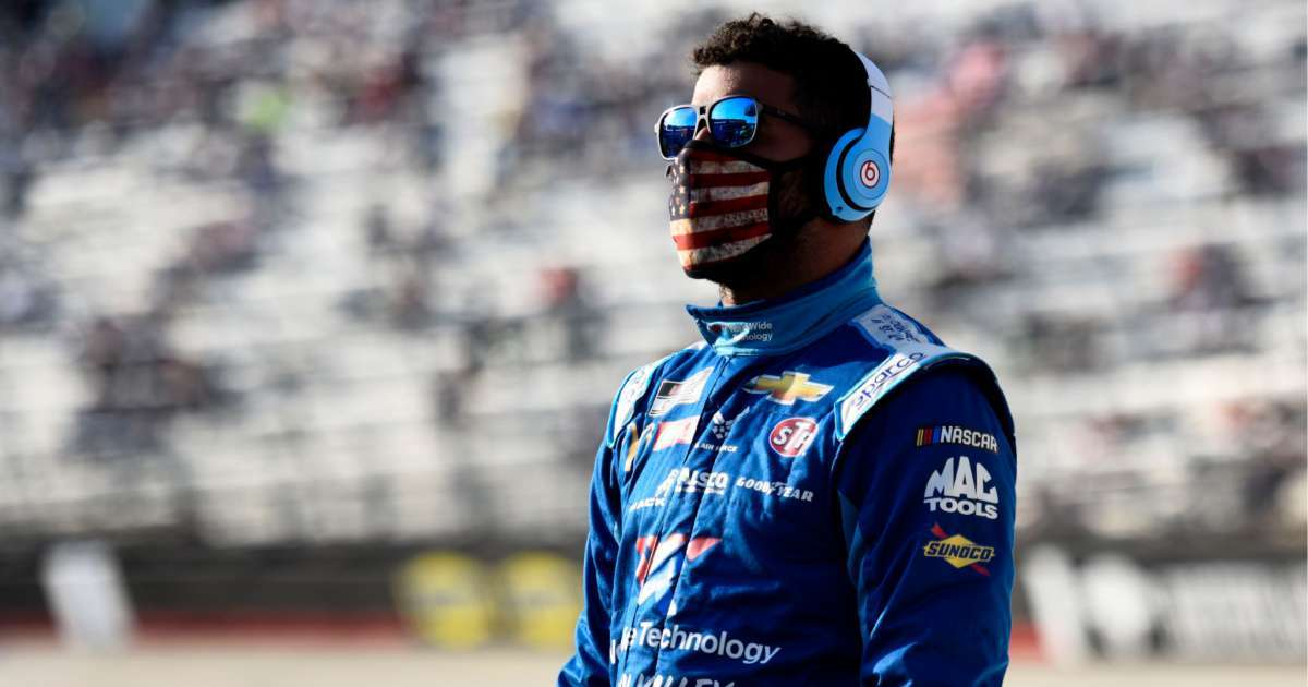 Bubba Wallace goes after driver wrecked him NASCAR All-Star race