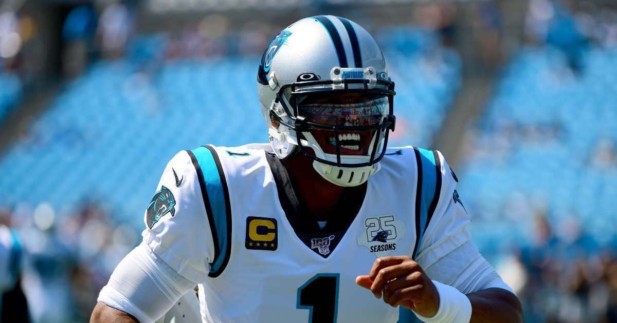 Cam Newton signs contract patriots jersey number revealed