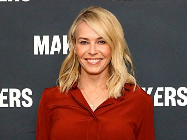 Chelsea Handler Makes Bra out of Her Face Masks While Exercising