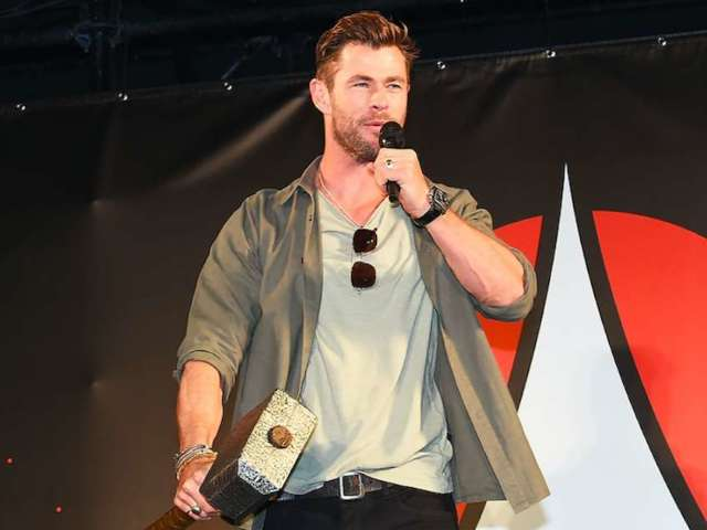 Chris Hemsworth Crashes Australia's 'Today Show' Weather Report and Social Media Is Loving It