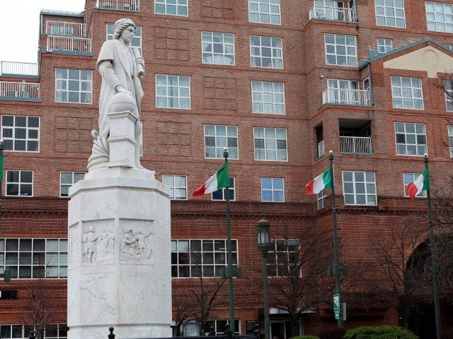 Baltimore Protesters Topple Christopher Columbus Statue, Throw It in Harbor