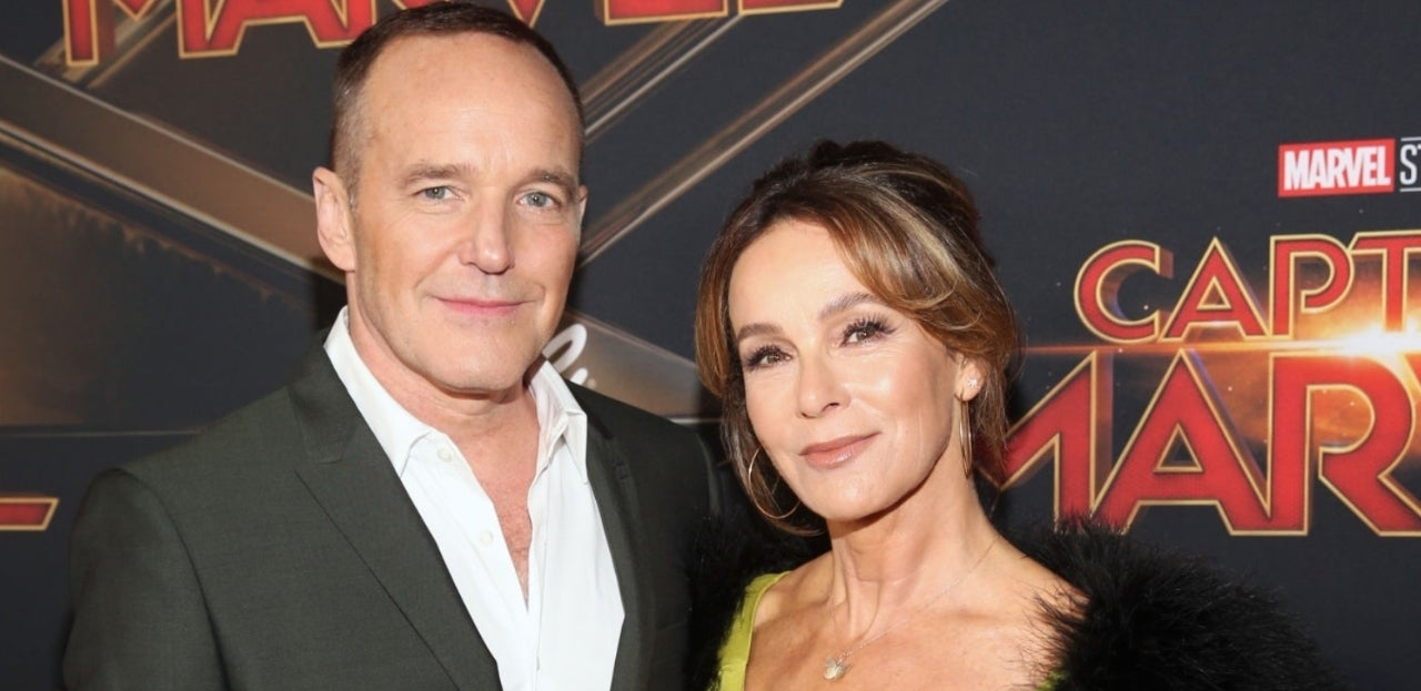 clark-gregg-jennifer-grey-getty