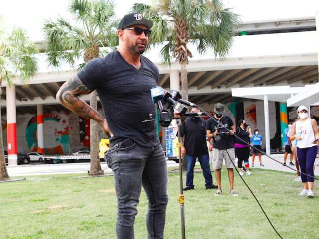 Dave Bautista Says WCW Thought He'd 'Never Make it in Professional Wrestling'