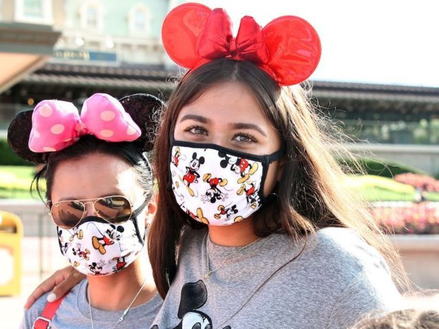 Disney World Bans Eating and Drinking While Walking to Combat Face Mask Policy Loophole