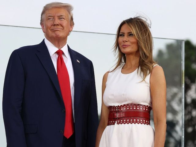 Photos: Donald Trump Joined by First Lady Melania for Discussion on Safely Reopening US Schools