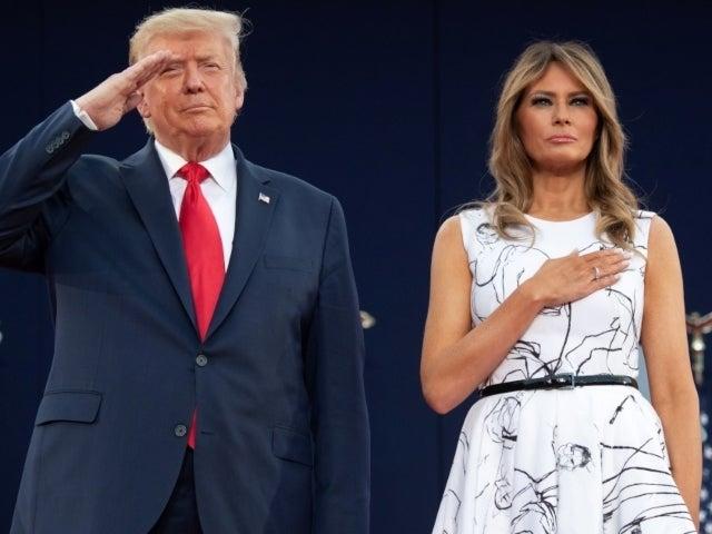 Melania Trump's Alexander McQueen Dress From Mount Rushmore Event Sparks Mockery on Social Media