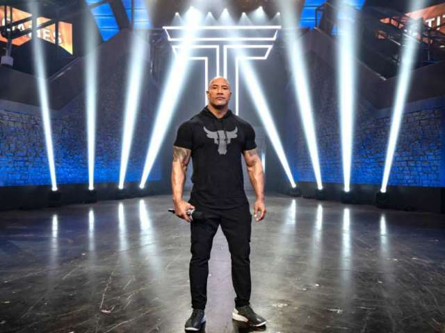Dwayne 'The Rock' Johnson Celebrates 'Titan Games' Ratings Success