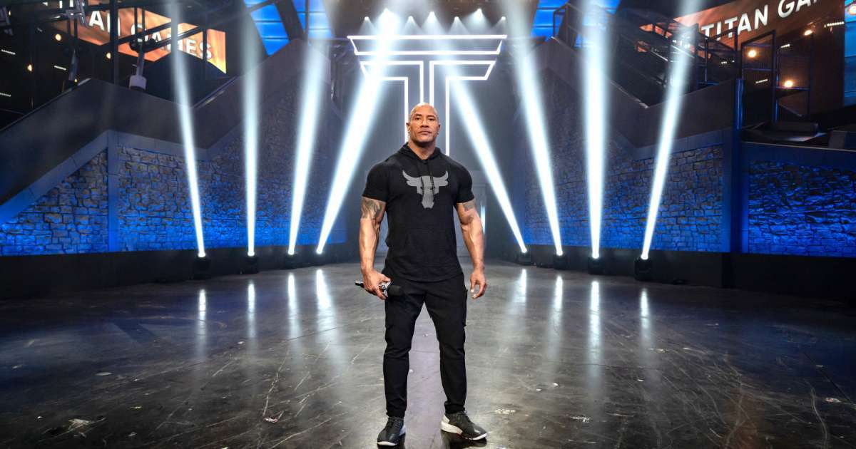Dwayne The Rock Johnson celebrates Titan Games ratings success