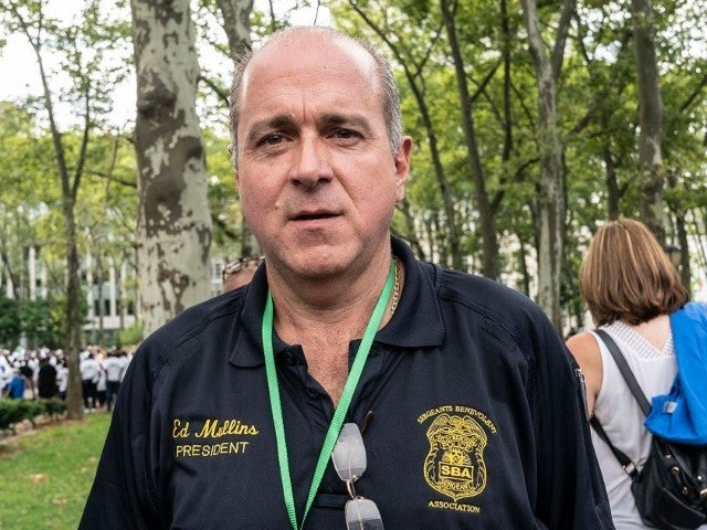 NYC Police Union Leader Proudly Shows off QAnon Conspiracy Mug on Fox News