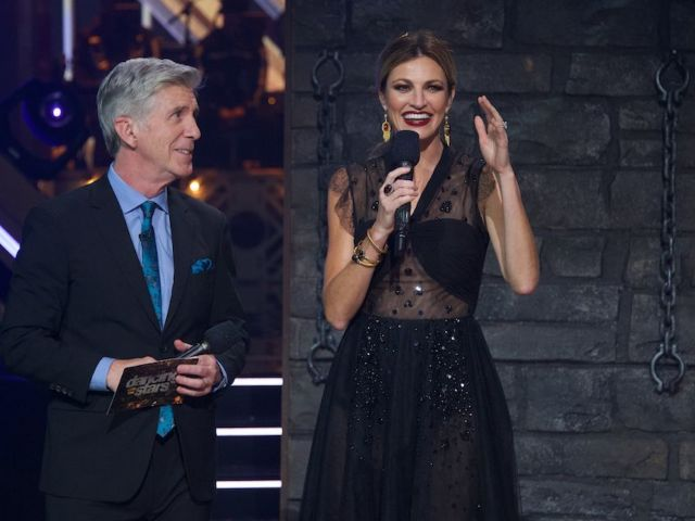 'DWTS': Tom Bergeron Mocks Producer's Claim There Was 'Real Danger' to Keeping Him and Erin Andrews