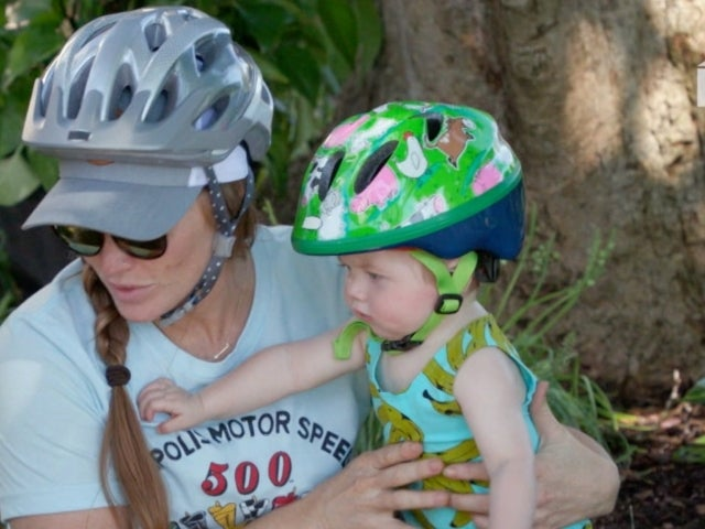 'Good Bones': Mina Starsiak Hawk's Son Jack Goes on His First Bike Ride in Adorable Exclusive Clip