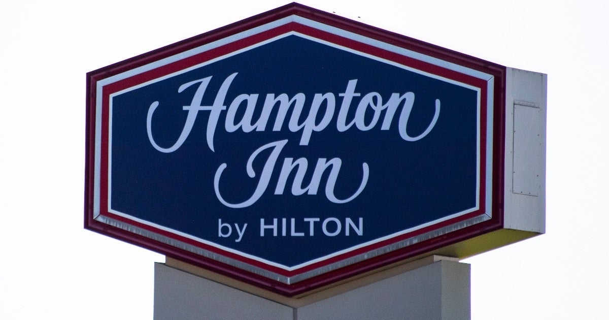 hampton inn hotel getty images