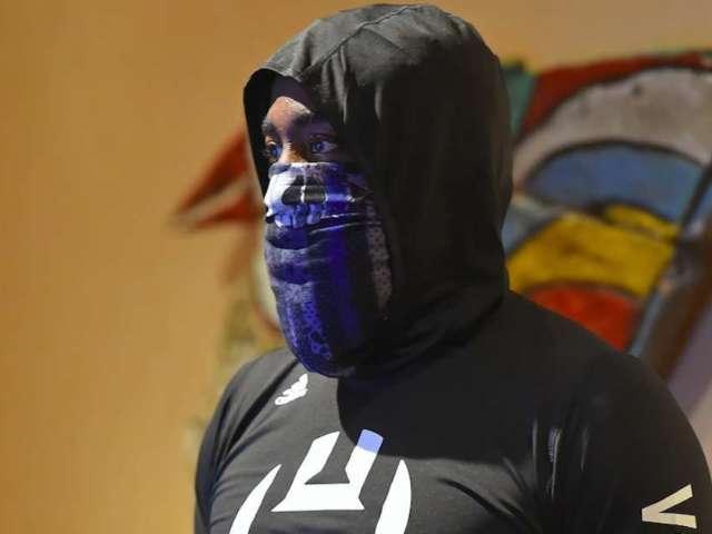 James Harden's Blue Lives Matter Face Mask Has NBA Fans Fuming