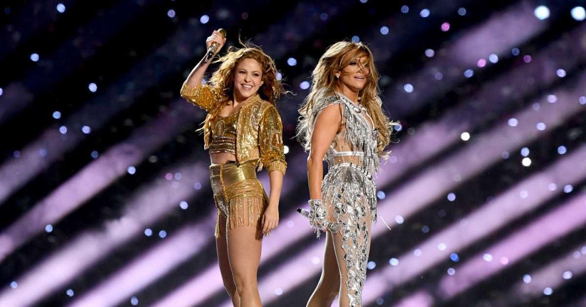 Jennifer Lopez Shakira Super Bowl halftime show 4 Emmy Nominations