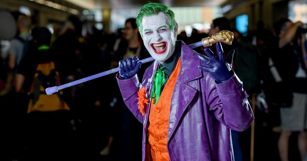 joker cosplay getty images