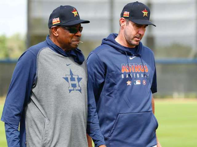 Justin Verlander Might Not Be out for the Season, Astros Manager Dusty Baker Says