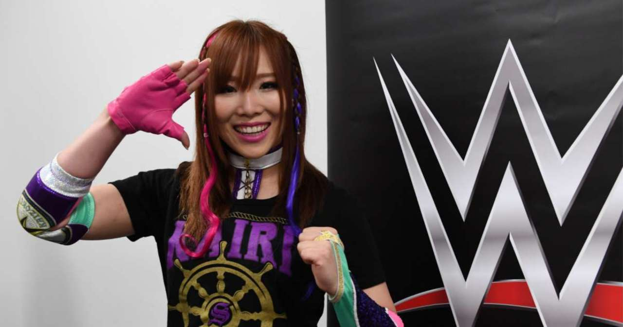 WWE's Kairi Sane Reportedly Left Company After Monday Tapings