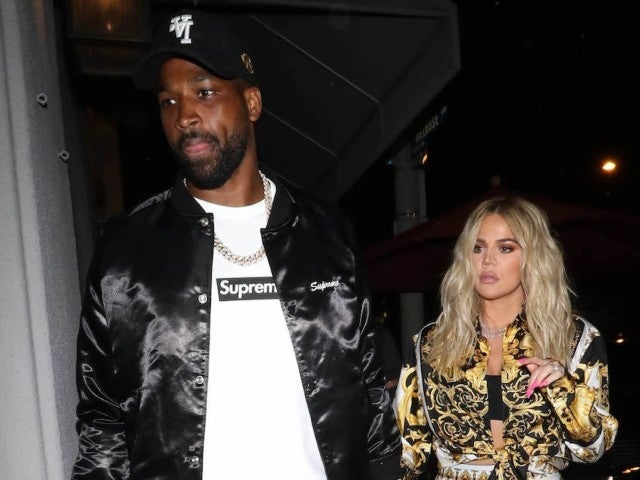 Khloe Kardashian Fans Think She and Tristan Thompson Are Engaged After Spotting Huge Diamond Ring on Her Finger