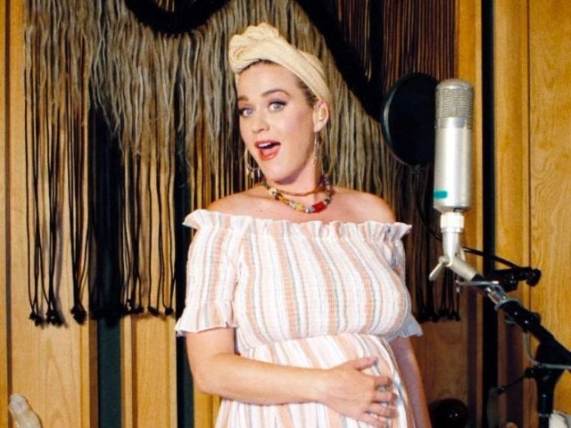 Katy Perry Shows off Baby Bump in Strapless Swimsuit, Reveals Baby's Cute Nickname