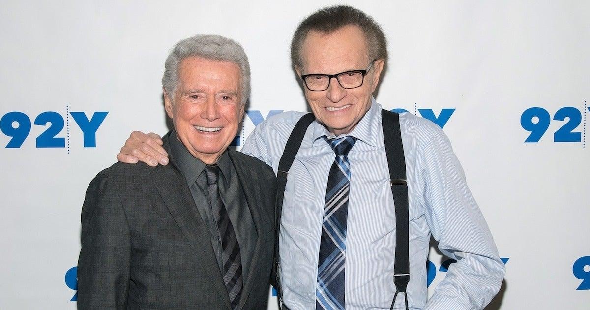 Larry King Regis Philbin