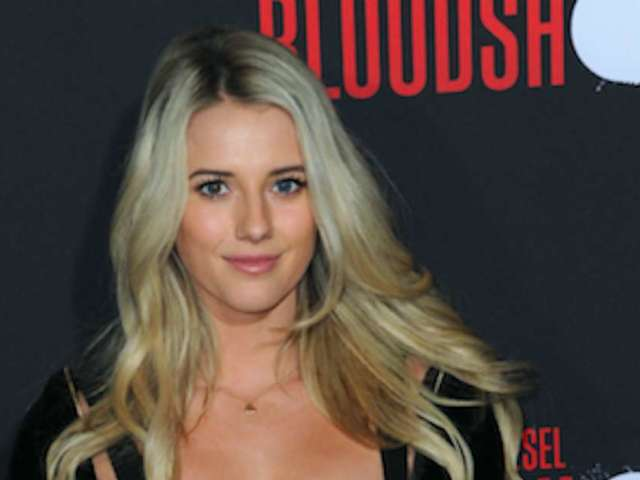 Racer Lindsay Brewer Hits the Tennis Court in Palm Springs for Stunning Model Photos