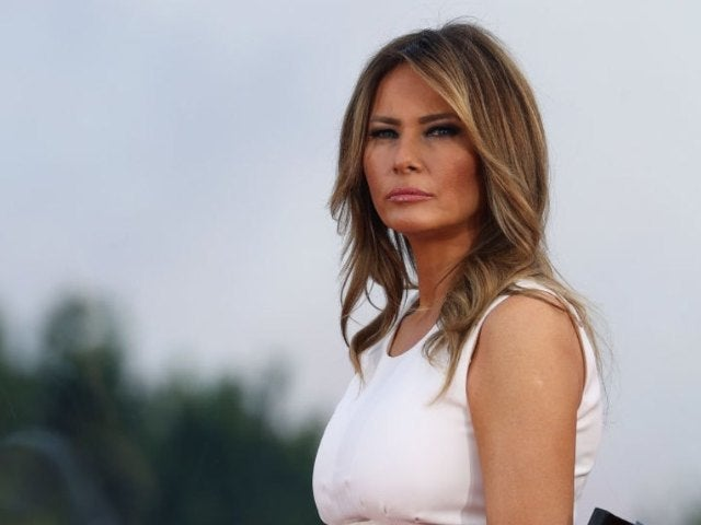 Melania Trump Sculpture in Her Hometown in Slovenia Set on Fire on July 4th