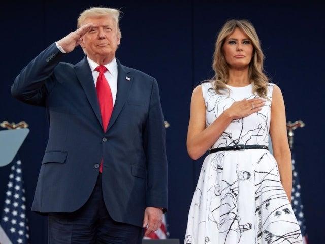 Fox News Edits Donald Trump out of Photo Showing Melania Trump Next to Jeffrey Epstein, Ghislaine Maxwell
