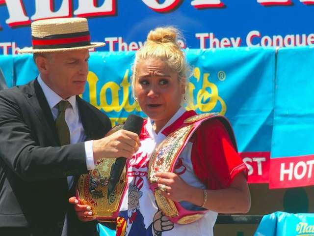 Miki Sudo Wins Women's Nathan's Famous Hot Dog Eating Contest Title