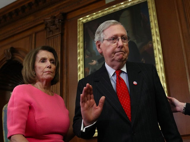 Stimulus Check: Mitch McConnell Calls Nancy Pelosi a 'Joke' While Claiming She's Blocking Relief Package