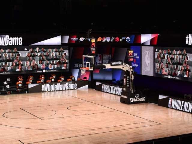 NBA Debuts Virtual Fans at Orlando Restart, and Social Media Has Thoughts