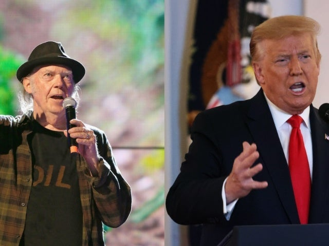 Neil Young Not Happy With Donald Trump Using His Songs at Mount Rushmore Event