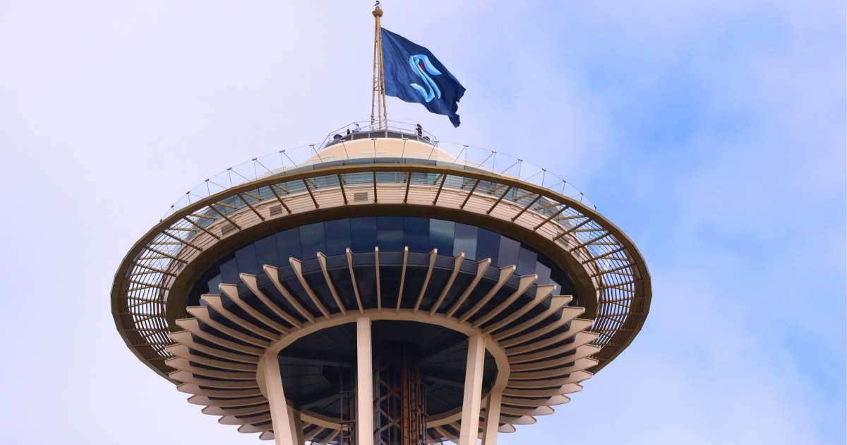 NHL expansion team Seattle Kraken reveal logo unifroms and social media loses it