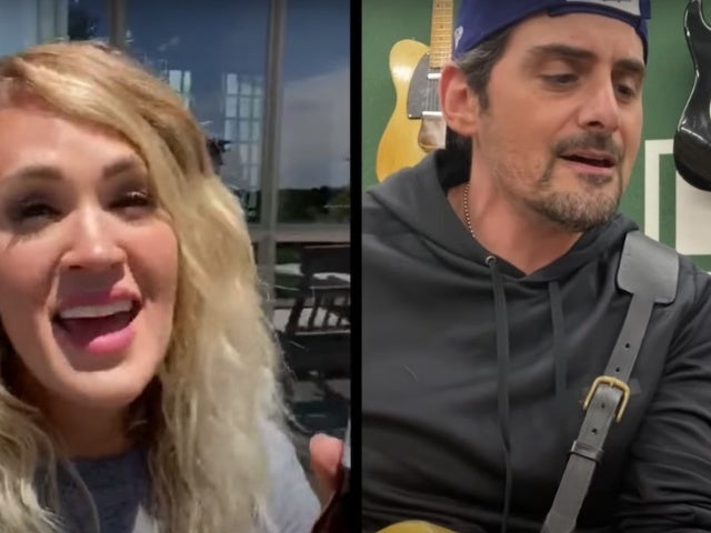 Carrie Underwood, Tim McGraw and More Cameo in Brad Paisley's Video for 'No I in Beer'